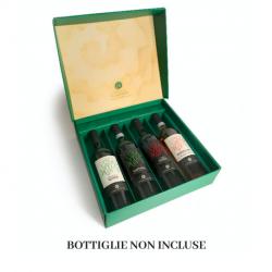 Confezione in cartone da 4 bottiglie
